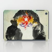 muscle iPad Cases featuring Muscle Girl by Arian Noveir