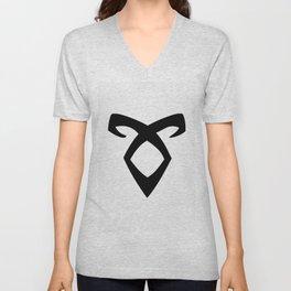 angelic rune Unisex V-Neck
