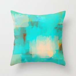 2 sided world Throw Pillow