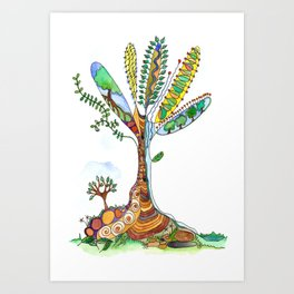 Tree of Life 9 Art Print