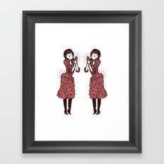 La Duchesse. Framed Art Print