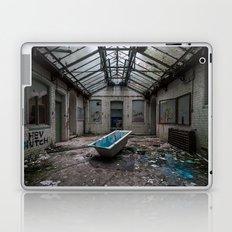 The Bath, abandoned school Laptop & iPad Skin