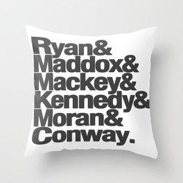 Dublin Murder Squad Detectives Throw Pillow