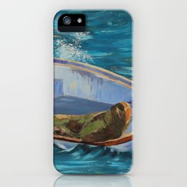 Lazy Days Seal iPhone Case