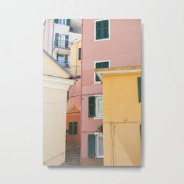 Colours of Cinque Terre, Italy Metal Print