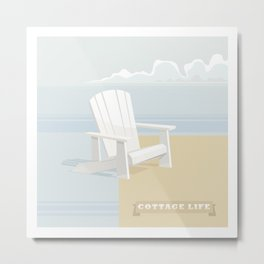 Cottage Life (2) Metal Print