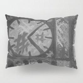 Big Ben by Lu, Black and White Pillow Sham
