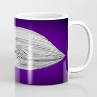 spaceship Mugs featuring Spaceship by Ajinkya Pawar