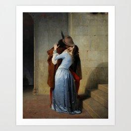 Francesco Hayez, The Kiss, 1859 Art Print