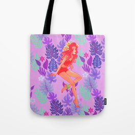Love Flower - Tropical Bliss Tote Bag
