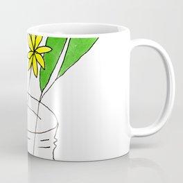 mason jar flower arrangement Coffee Mug