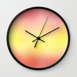flag of spain - with cloudy colors Wall Clock