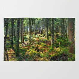 Late Spring Forest Rug