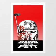 Dawn of the Fett Art Print
