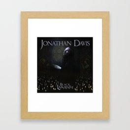 JONATHAN DAVIS BLACK LABYRINTH TOUR DATES 2019 FIZI Framed Art Print