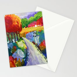 Twist and Turn Stationery Cards