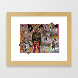 Still - Hanging Out In Coney Island Framed Art Print