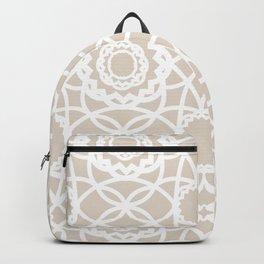 Palm Springs Macrame Lattice Lace Backpack