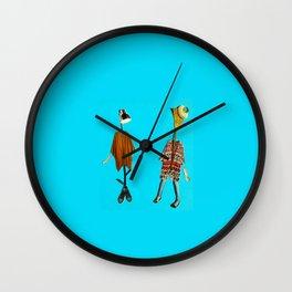 Miss Messy & Gwendolen Wall Clock