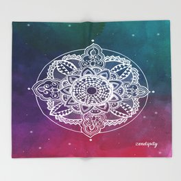 Confidence Zendala ''Starry Sky'' Throw Blanket
