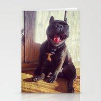 bruno mars Stationery Cards featuring Bruno by Fernanda Cataldo