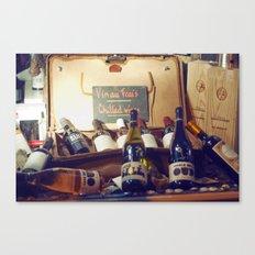 Vin au Frais: Chilled Wine Canvas Print