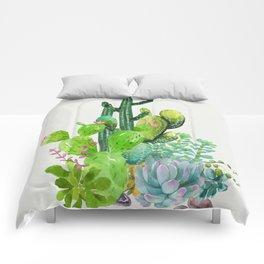 Cactus Garden II Comforters
