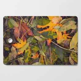 Autumn Leaves Cutting Board