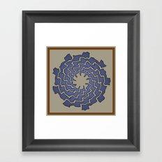 Wriggle Framed Art Print