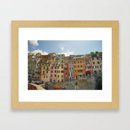 Colorful Cinque Terre 1 Framed Art Print