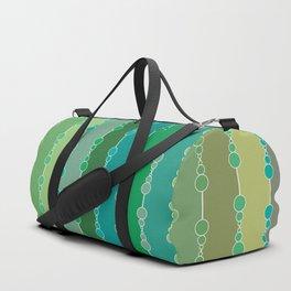 Multi-faceted decorative lines 6 Duffle Bag