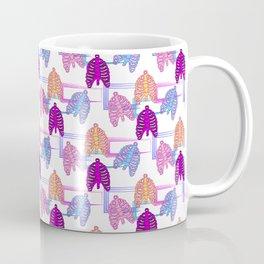 Purple Mohican Coffee Mug