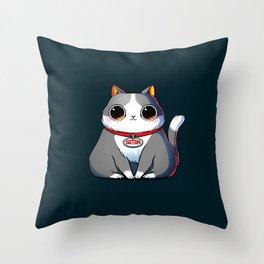 Satan Cat Throw Pillow