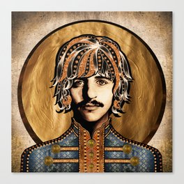 Boho Beatle ( Ringo ) Canvas Print