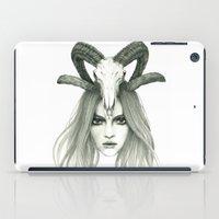 zodiac iPad Cases featuring Zodiac - Aries by Simona Borstnar