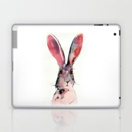 March Hare Watercolor Painting. Laptop & iPad Skin
