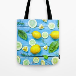 Fruits and leaves pattern (24) Tote Bag