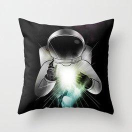 Being of Light Throw Pillow