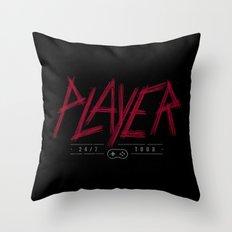 Slayer Player Throw Pillow