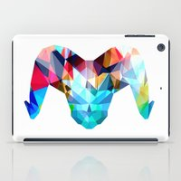ram iPad Cases featuring Ram by haroulita