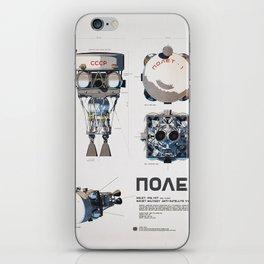 Polyot Schematics 2 iPhone Skin