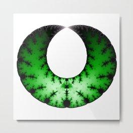 Fractal Art - Necklace Metal Print