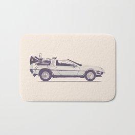 Famous Car #2 - Delorean Bath Mat