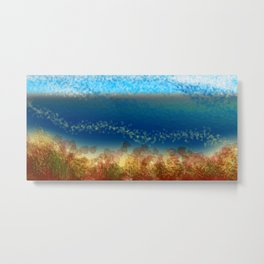 Abstract Seascape 01 w Metal Print