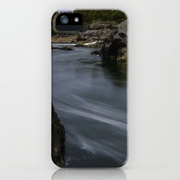 Potomac River in Autumn iPhone Case