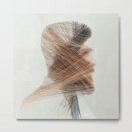Pulling Threads - Mr. One Metal Print