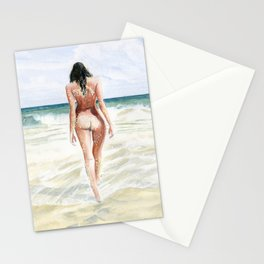 Waves Of Freedom Stationery Cards