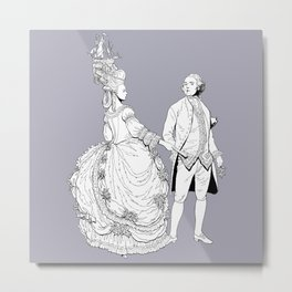 Duke and Duchess Metal Print