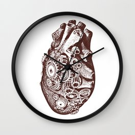 A Heart that Works Wall Clock
