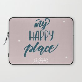 My happy place Laptop Sleeve
